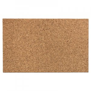 "Iceberg ICE35010 Designer Cork Bulletin Board, 24"" x 38"", Natural"