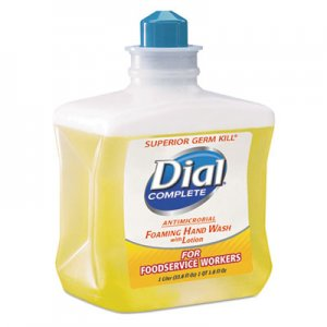 Dial Professional DIA00034 Antimicrobial Foaming Hand Soap, For Foodservice Workers, 1 Liter, 4/Carton