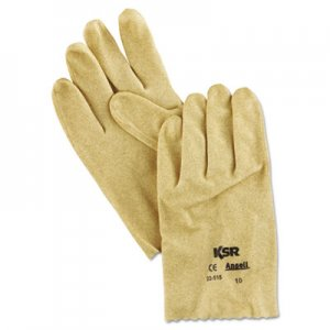 AnsellPro ANS2251510 KSR Vinyl-Coated Knit-Lined Gloves, Size 10