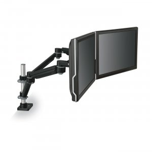 3M MA260MB Easy-Adjust Dual Monitor Arm