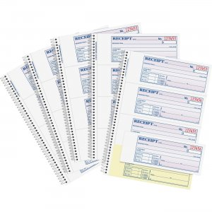 Adams SC1182PK Spiral 2-part Money/Rent Receipt Book ABFSC1182PK