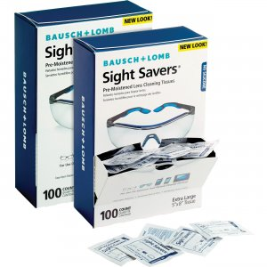 Bausch & Lomb 8574GMBD Sight Savers Lens Cleaning Tissues BAL8574GMBD