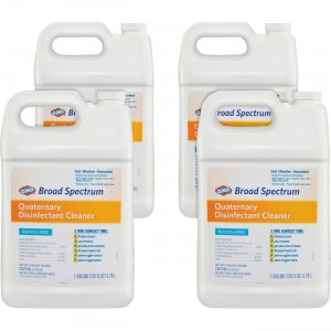Clorox 30651CT Broad Spectrum Quaternary Disinfect Cleaner CLO30651CT