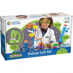 Learning Resources LER0826 Age3+ Primary Science Deluxe Lab Set LRNLER0826