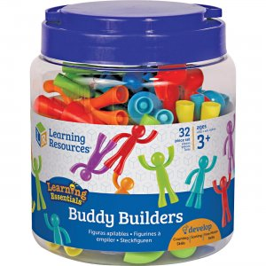 Learning Resources LER1081 Ages 3+ Buddy Builders Set LRNLER1081