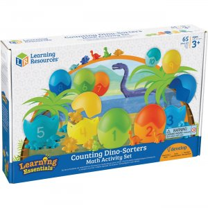 Learning Resources LER1768 Counting Dino-Sorters Math Activity Set LRNLER1768