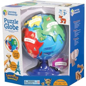 Learning Resources LER7735 Puzzle Globe LRNLER7735