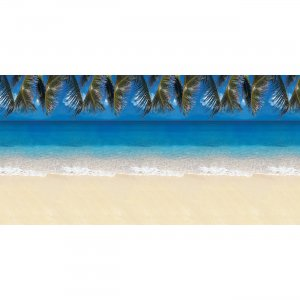 Fadeless 56715 Tropical Beach Design Bulletin Board Papers PAC56715