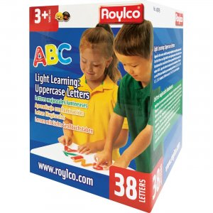 Roylco R49703 Light Learning: Uppercase Letters RYLR49703