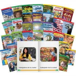 Shell 25857 TIME For Kids Informational Text Grade K Readers 30-Book Spanish Set SHL25857