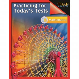 Shell 51445 Math Practice Tests - Level 6 SHL51445