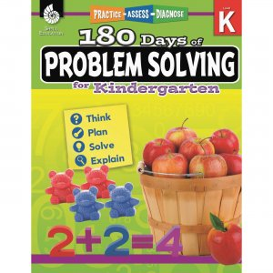 Shell 51612 180 Days of Problem Solving for Kindergarten SHL51612
