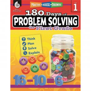 Shell 51613 180 Days of Problem Solving for First Grade SHL51613