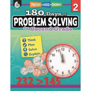 Shell 51614 180 Days of Problem Solving for Second Grade SHL51614