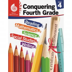 Shell 51623 Conquering Fourth Grade SHL51623