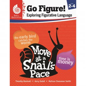 Shell 51625 Go Figure! Exploring Figurative Language, Levels 2-4 SHL51625