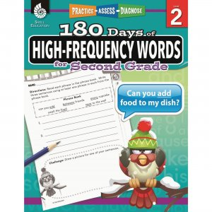 Shell 51635 High-Frequency Words for Grade 2 SHL51635