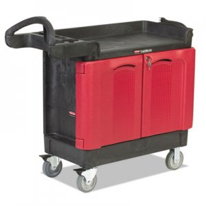 Rubbermaid Commercial RCP451288BLA TradeMaster Cart, 500-lb Cap, Two-Shelf, 18-1/4w x 41-5/8d x 38-3