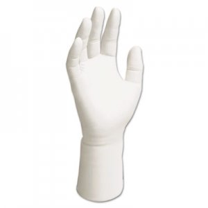 KIMTECH KCC56882 G5 Nitrile Gloves, Powder-Free, 305 mm Length, Medium, White, 1000/Carton