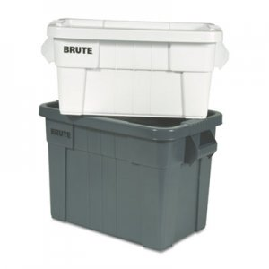 Rubbermaid Commercial RCP9S31GRACT Brute Tote Box, 20gal,Gray