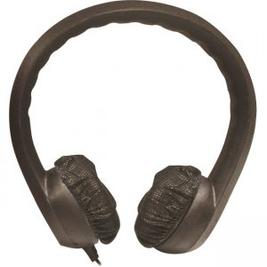 Hamilton Buhl KIDS-BLK Flex Phones Foam Headphones 3.5mm Plug Black