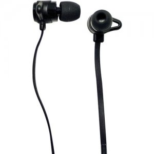 Visiontek 900936 Stereo Earphones With Hands Free Capability -Black