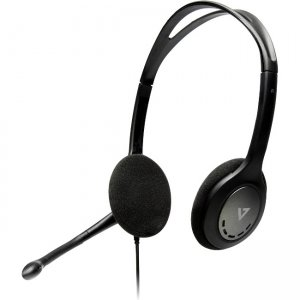 V7 HA202-BULK-2N Stereo Headset with Mic (Bulk Packaging)