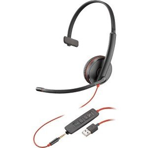 Plantronics 209744-101 Blackwire Headset