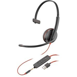 Plantronics 209746-101 Blackwire Headset