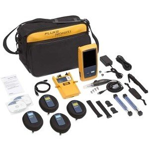 Fluke Networks OFP2-100-Q/GLD OptiFiber Pro Quad OTDR Kit with 1 Year Of Gold Support