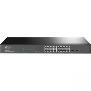 TP-LINK T1600G-18TS JetStream16-Port Gigabit Smart Switch with 2 SFP Slots