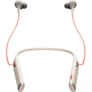 Plantronics 208749-01 Voyager 6200 UC Business-Ready Bluetooth Neckband Headset With Earbuds