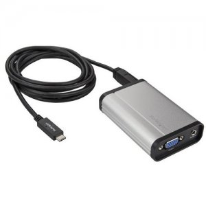 StarTech.com USBC2VGCAPRO VGA to USB-C Video Capture Device - 1080p 60fps - Aluminum