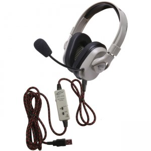 Califone HPK-1510 Washable Titanium Headphone with Guaranteed for Life Cord