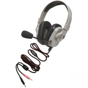 Califone HPK-1530 Titanium Headset with Guaranteed for Life Cord