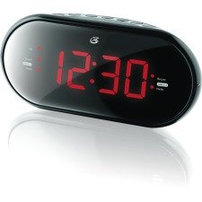 GPX C253B Clock Radio with Dual Alarm