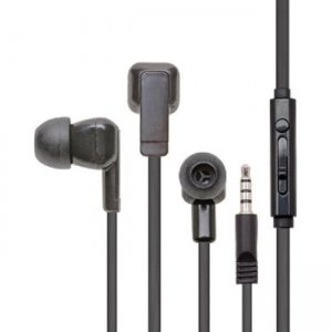 Califone E3T Earbuds With Mic And To Go Plug