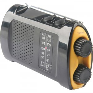 First Aid Only 90423 Portable AM/FMTV Crank Radio FAO90423