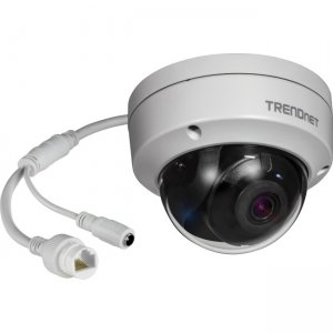 TRENDnet TV-IP317PI Indoor/Outdoor 5MP H.265 WDR PoE IR Dome Network Camera