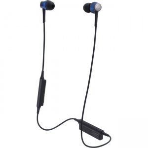 Audio-Technica ATH-CKR55BTBL Sound Reality Wireless In-Ear Headphones