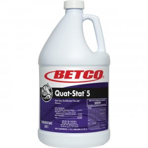 Betco 34104-00 Quat-Stat 5 Disinfectant Gallon BET34104
