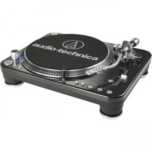 Audio-Technica AT-LP1240-USBXP Direct-Drive Professional DJ Turntable (USB & Analog)
