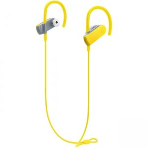Audio-Technica ATH-SPORT50BTYL SonicSport Wireless In-ear Headphones