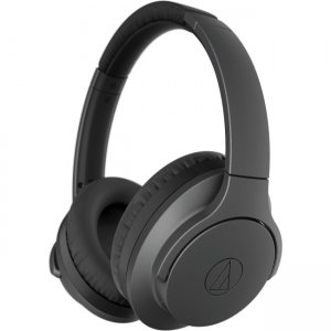 Audio-Technica ATH-ANC700BTBK QuietPoint Wireless Active Noise-Cancelling Headphones
