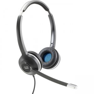 Cisco CP-HS-W-532-USBA= Headset (Wired Dual with USB Headset Adapter)