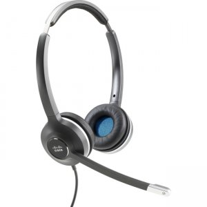 Cisco CP-HS-W-532-RJ= Headset (Wired Dual with Quick Disconnect coiled RJ Headset Cable)