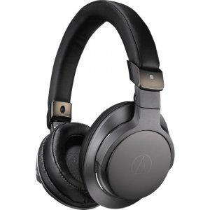 Audio-Technica ATH-SR6BTBK Wireless Over-Ear High-Resolution Headphones