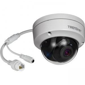 TRENDnet TV-IP327PI Indoor/Outdoor 2MP H.265 WDR PoE IR Dome Network Camera