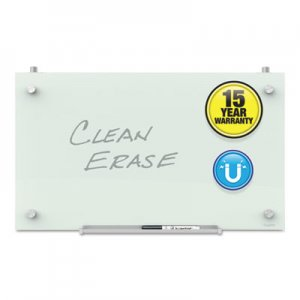 Quartet QRTPDEC2414 Infinity Magnetic Glass Dry Erase Cubicle Board, 14 x 24, White