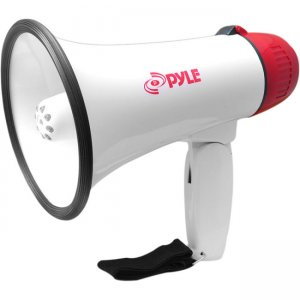 PyleHome PMP37LED Professional Megaphone / Bullhorn with Siren & LED Lights